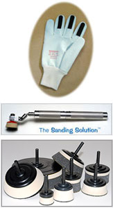 Click to browse our Sanding Tools catalog to order The Sanding Glove, The Sanding Solution, Disc Holders (Sanding Mandrels), Power Tools, Pneumatic Sanding Tools, and much more...