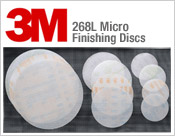 3M 268L Micro Finishing Discs