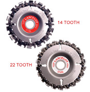 Lancelot Chain Discs (14 tooth and 22 tooth)