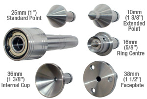 Woodturning Accessories Revolving Centers Multistar Live Centres