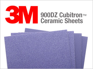 3M 900DZ Cubitron� Ceramic Sheets